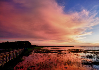 Birdwalk Sunset